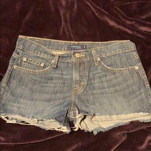 Levi's Boyfriend CutOff Shorts
